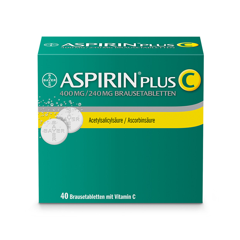 Packshot Aspirin Plus C
